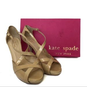 Kate Spade Get Nude Strappy Heel